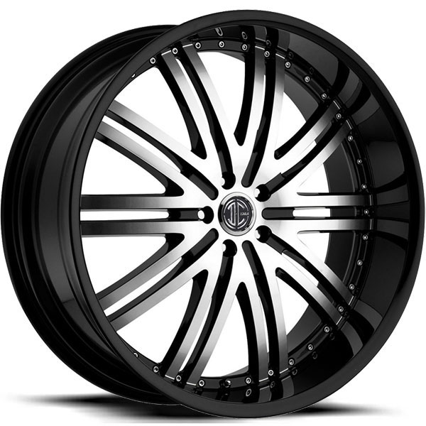 2 Crave No.11 Gloss Black with Machined Face and Gloss Black Lip