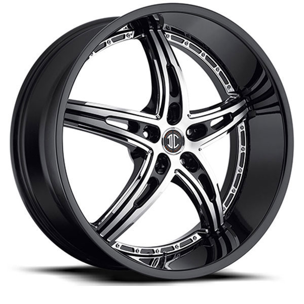 2 Crave No.25 Gloss Black with Machined Face and Chrome Insert