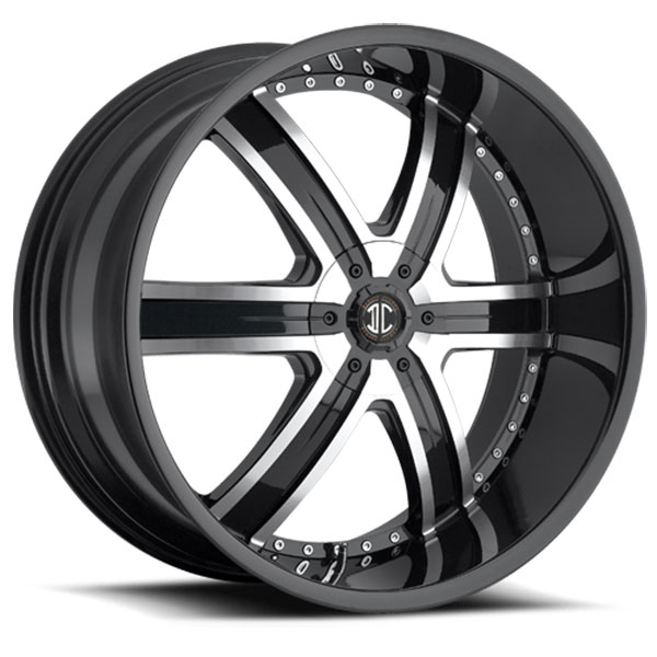 2 Crave No.4 Gloss Black with Machined Face and Gloss Black Lip