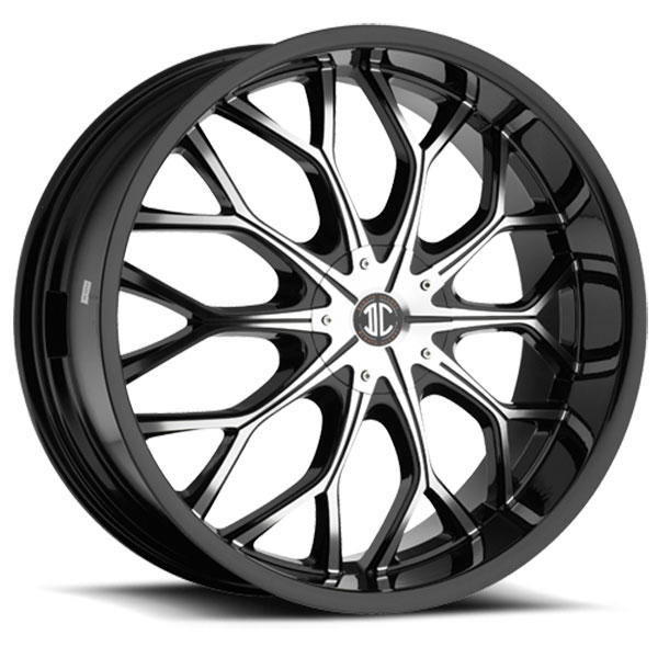 2 Crave No.9 Gloss Black with Machined Face and Gloss Black Lip