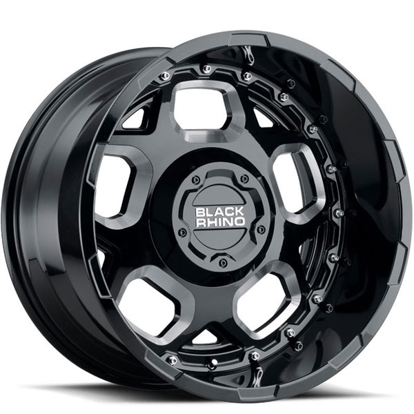 Black Rhino Gusset Gloss Black