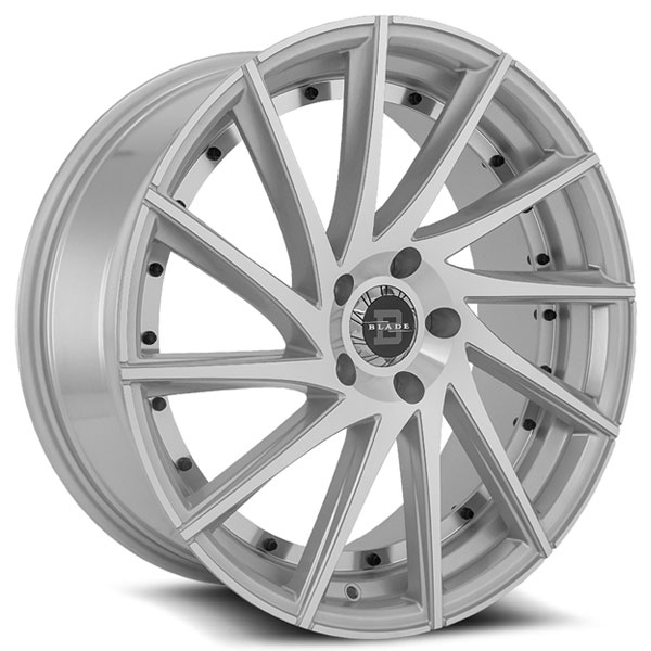 Blade RT-457 Tundra Silver with Machined Face