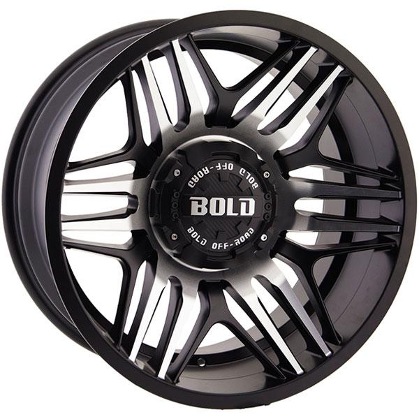 Bold BD003 Gloss Black Milled