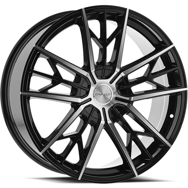 Cavallo CLV-39 Gloss Black Machined