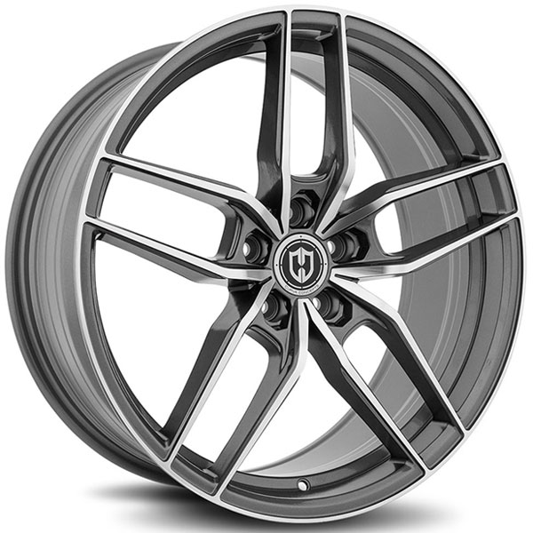 Curva Concepts CFF25 Gun Metal with Machined Face