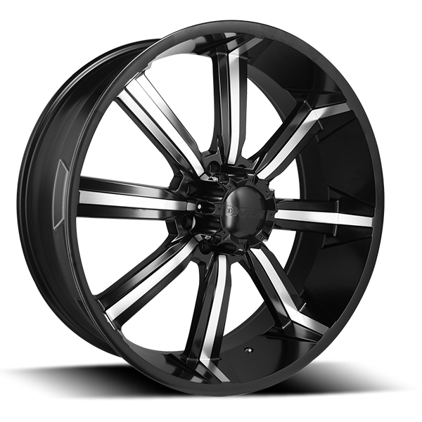 DCenti DW903 Flat Black with Machined Face