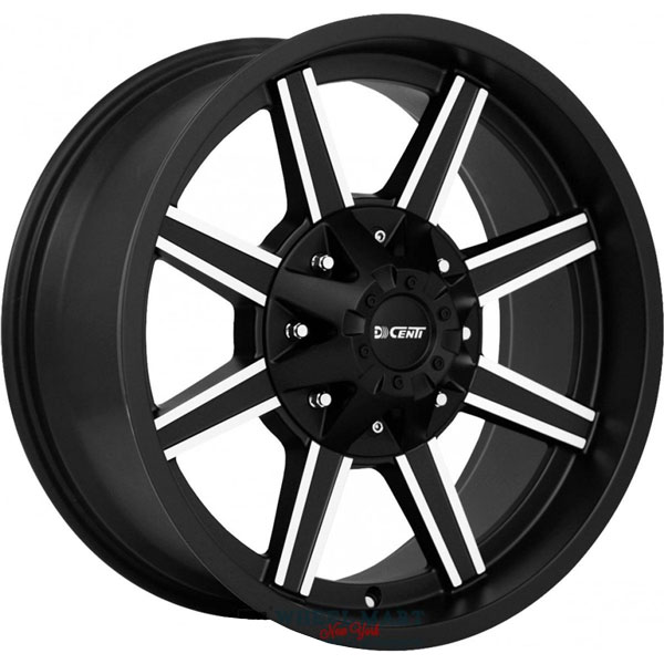 DCenti DW930 Black with Machined Face