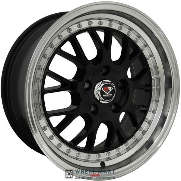 Dcenti Racing DCTL003 Black with Machined Lip