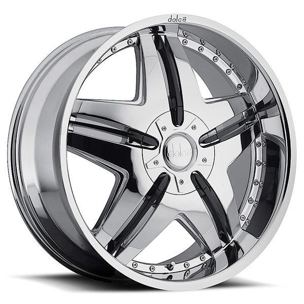 Dolce DC24 Chrome with Black Inserts
