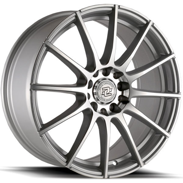 Drag Concepts R16 Silver Machined