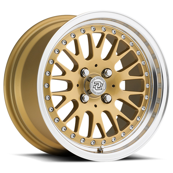 Drag Concepts R17 Gold with Machined Lip