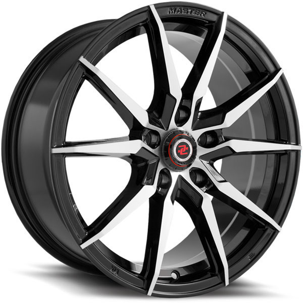 Drag Concepts R30 Gloss Black with Machined Face