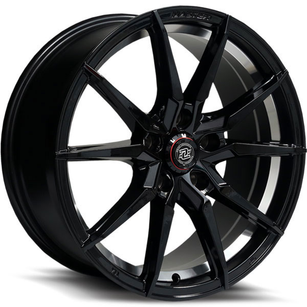 Drag Concepts R30 Gloss Black with Machined Undercut