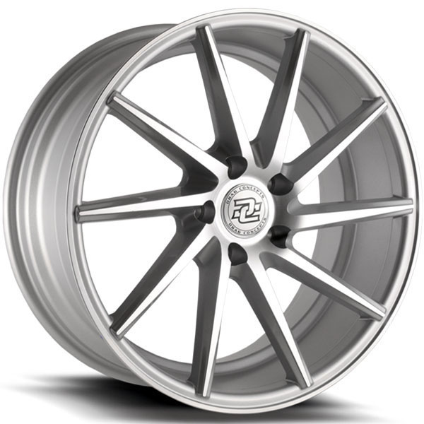 Drag Concepts R35 Silver with Machined Face