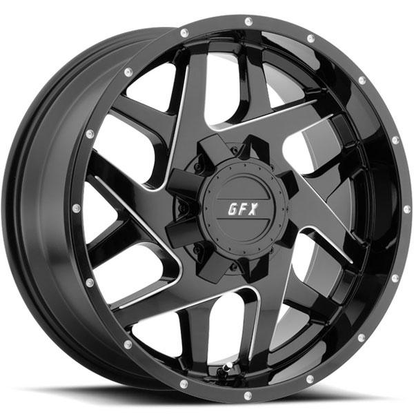 G-FX TM2 Gloss Black Milled