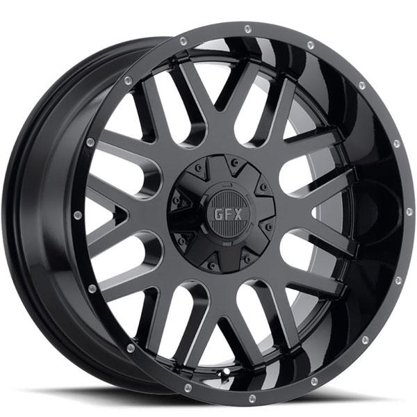 G-FX TM4 Gloss Black Milled