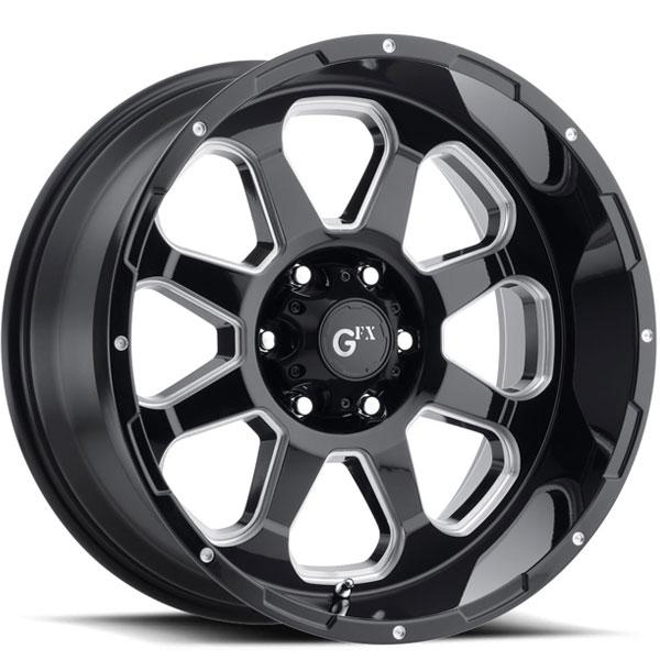 G-FX TR10 Gloss Black Milled