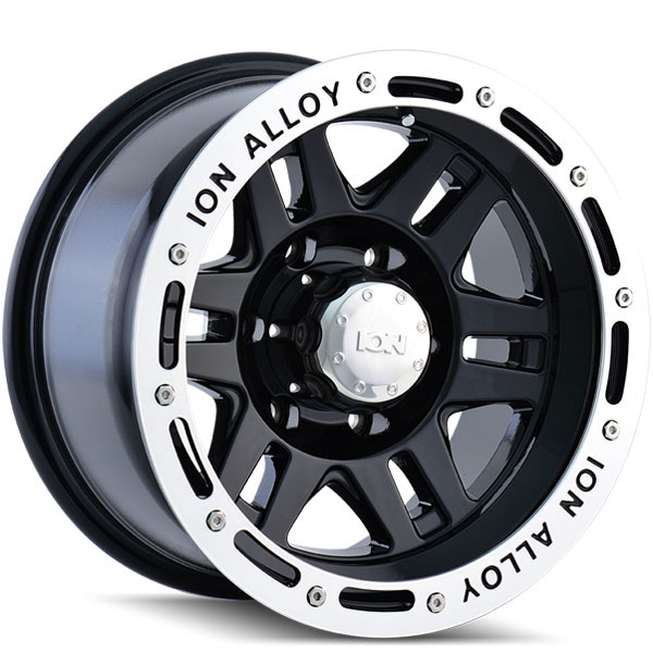 Ion Alloy 133 Black with Machined Lip