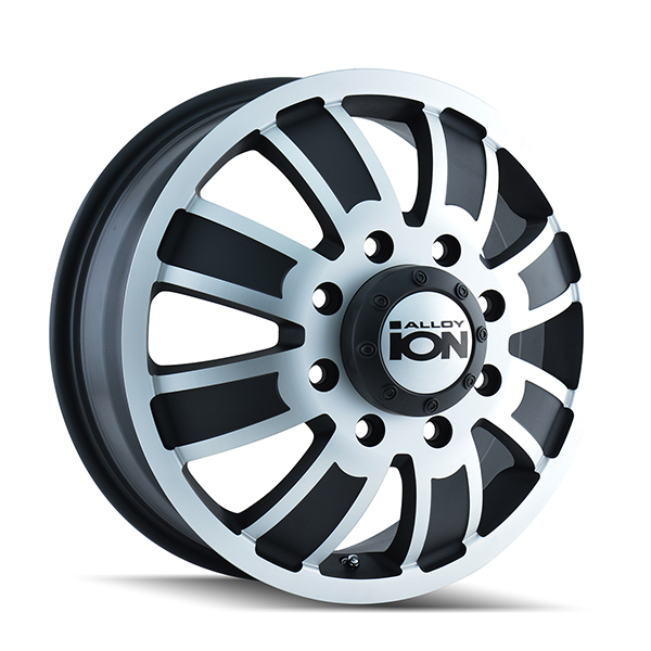 Ion Alloy 166 Matte Black with Machined Face
