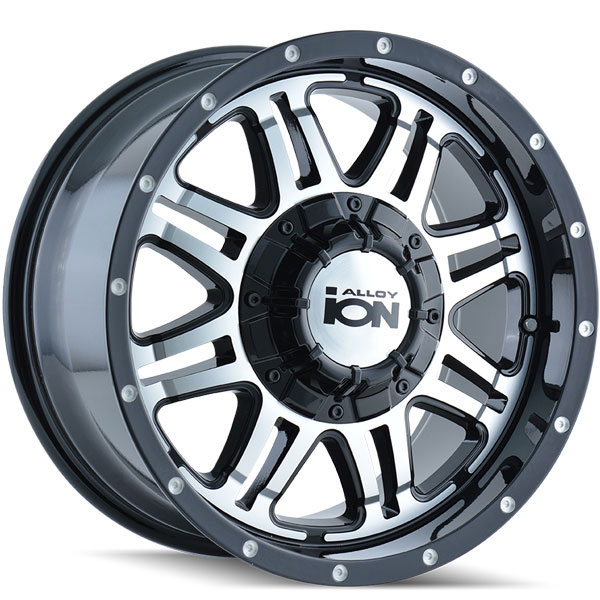 Ion Alloy 186 Black with Machined Face