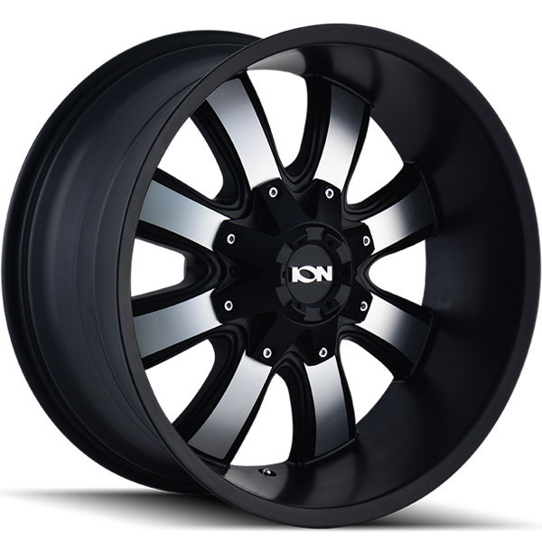 Ion Alloy 189 Satin Black with Machined Face
