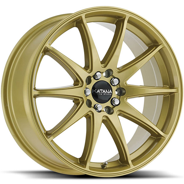 Katana KR30 Gloss Golden