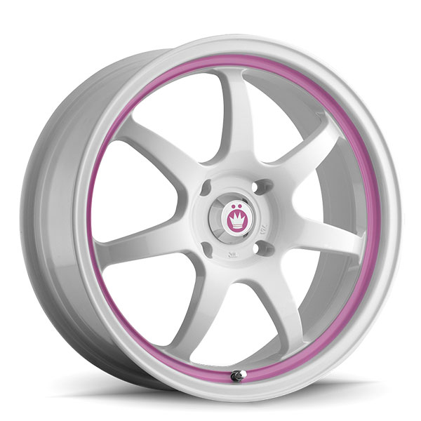 Konig Forward White with Pink Stripe