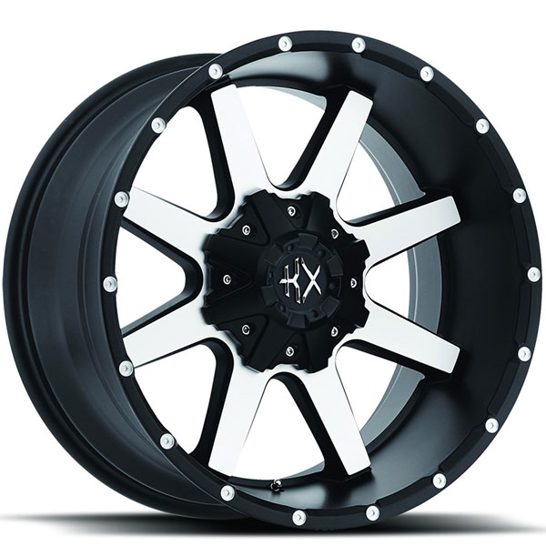 KX Offroad KX01 Matte Black with Machined face