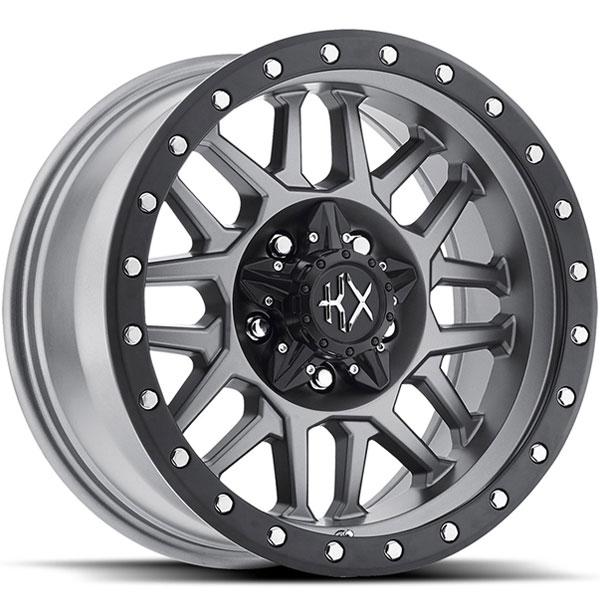 KX Offroad KX03 Matte Grey with Satin Black Ring