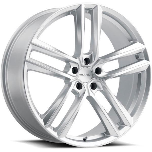 Milanni 475 Clutch Hyper Silver