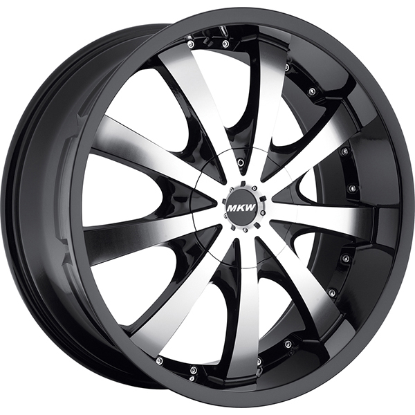 MKW M102 Black with Machined Face