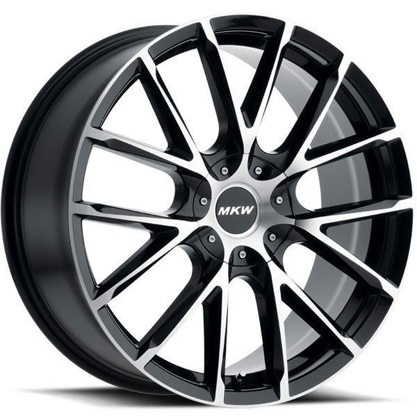 MKW M123 Gloss Black with Machined Face