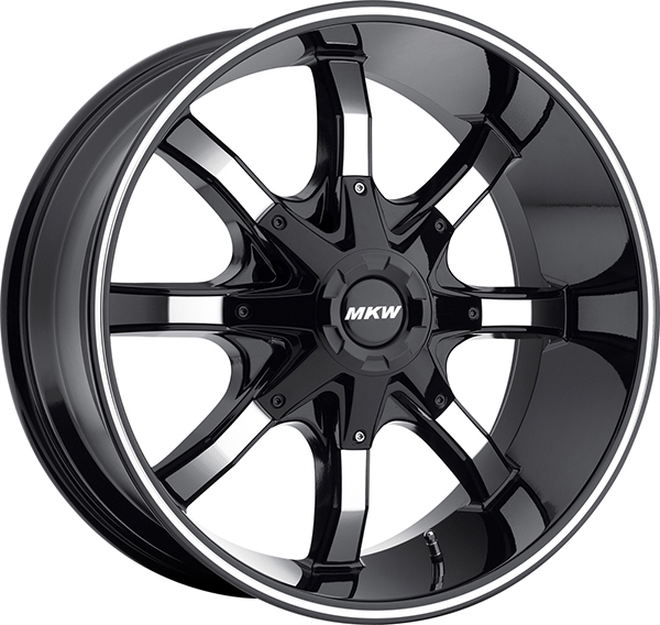 MKW M81 Gloss Black with Machined Face and Stripe