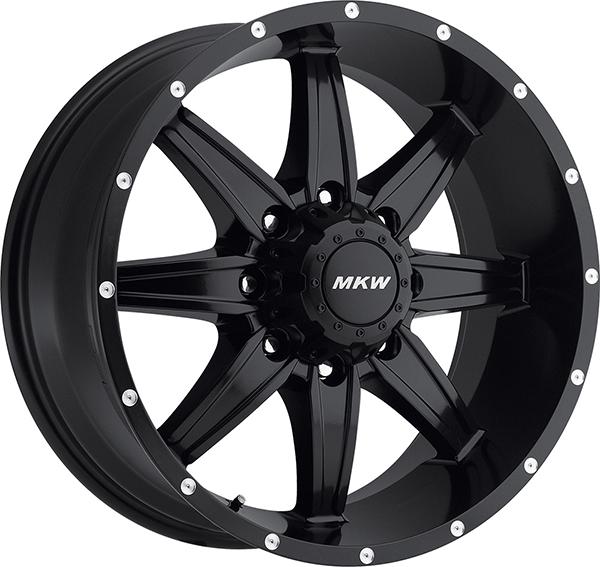 MKW M89 Satin Black 8 Lug