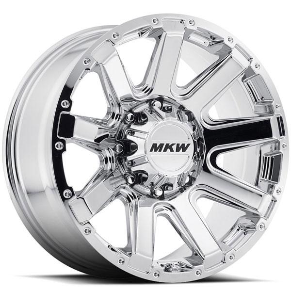 MKW M94 Chrome 8 Lug
