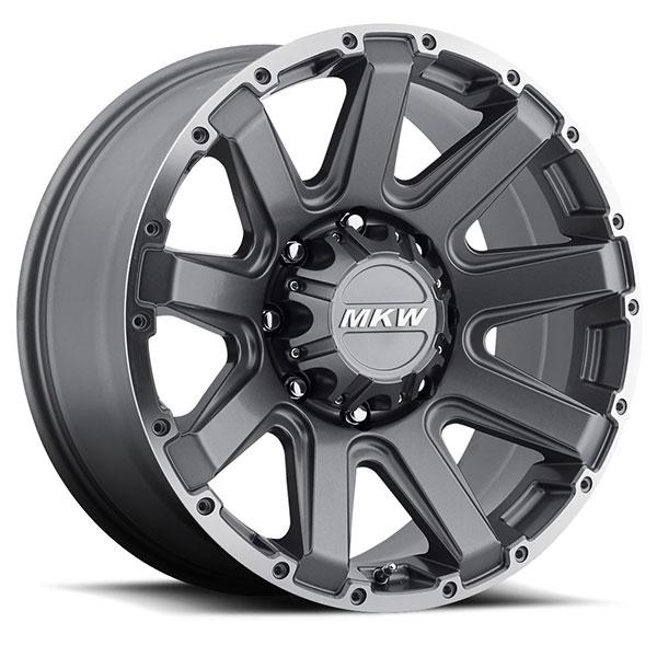 MKW M94 Gray Machined 8 Lug