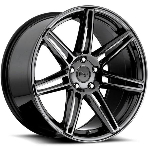 Niche Lucerne M141 Black Chrome