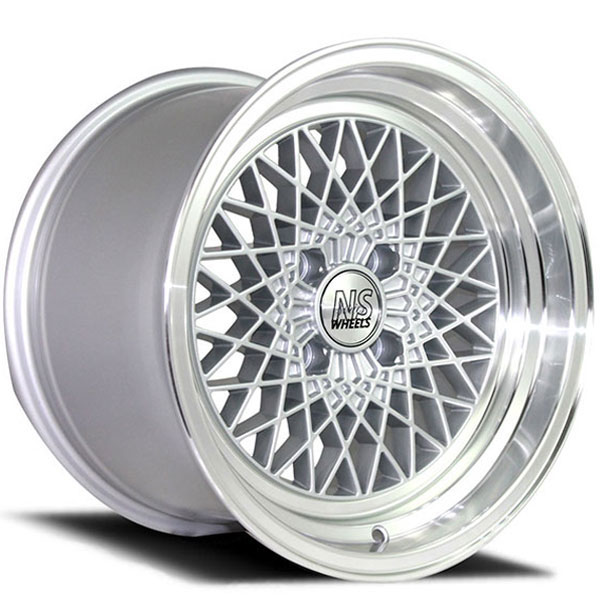 NS Series Drift-MDV2 Silver with Polished Lip