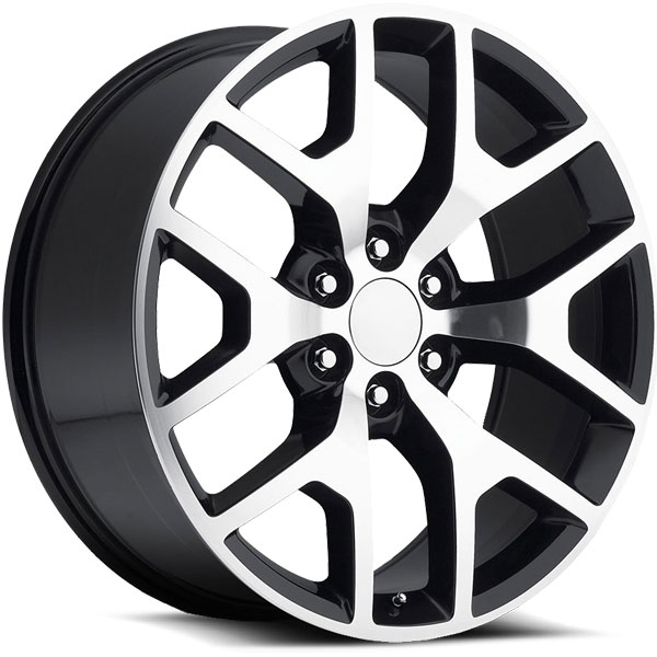 OE Revolution D-04 Gloss Black with Machined Face