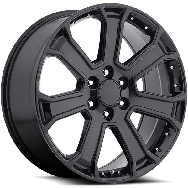 OE Revolution G-06 Gloss Black with Black Inserts