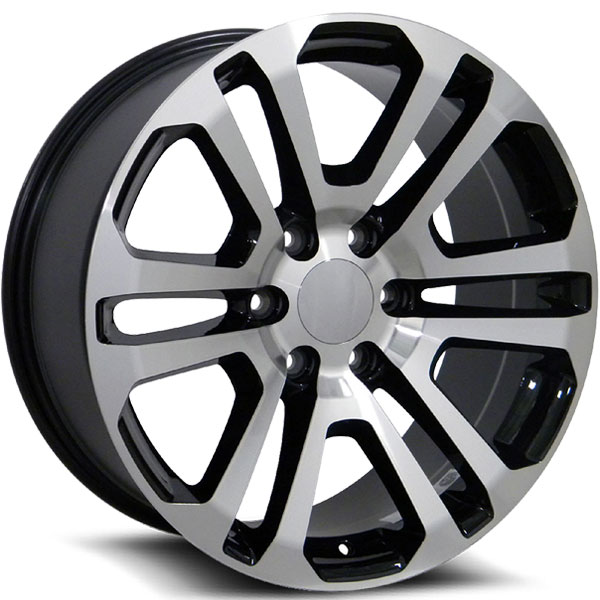OE Revolution G-08 Gloss Black with Machined Face