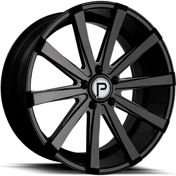 Pinnacle P100 Royalty Gloss Black Milled