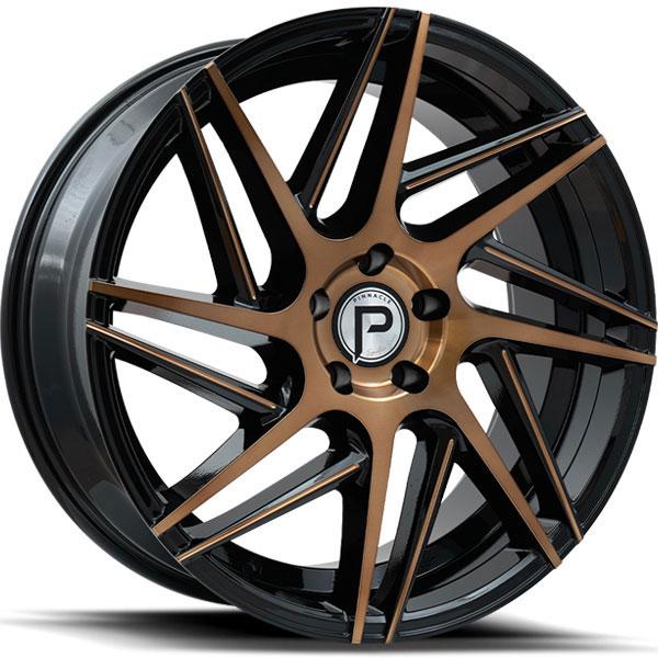 Pinnacle P104 Swerve Bronze Gloss Black