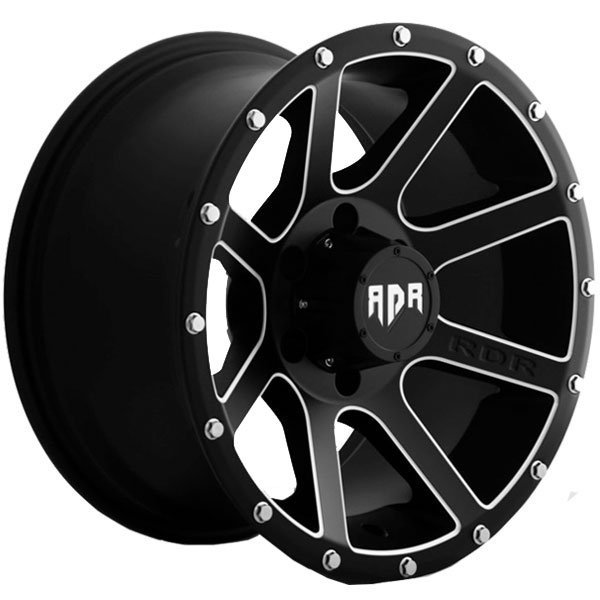 Red Dirt Road RD08 Krawler Satin Black with Machined Accents