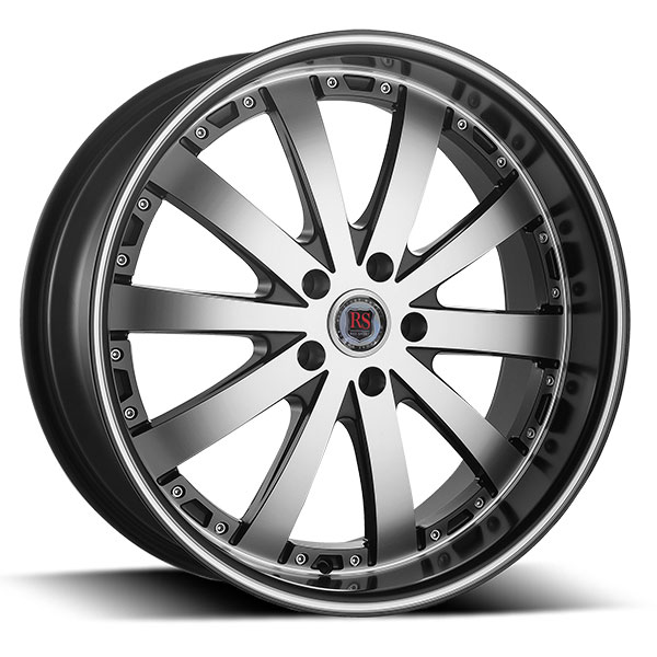 Red Sport RSW77A Black with Machined Face and Stripe