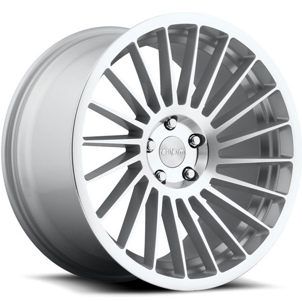 Rotiform IND-T Silver with Machined Face