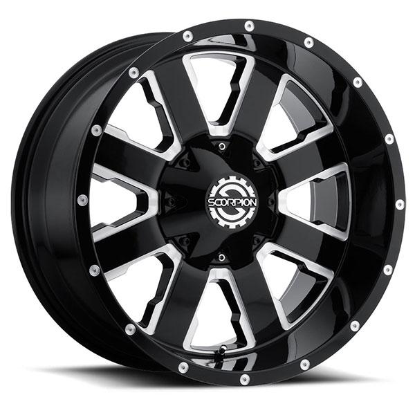 Scorpion Off-Road SC-20 Black Milled
