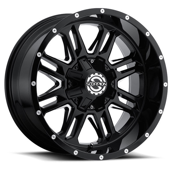 Scorpion Off-Road SC-21 Black Milled