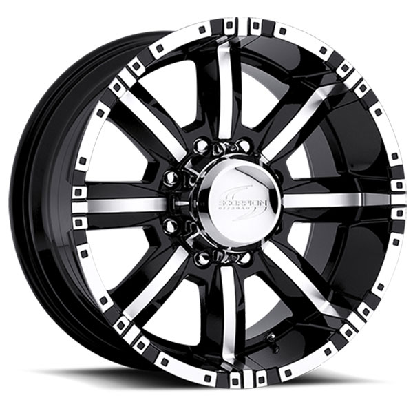 Scorpion Off-Road SC-4 Black with Machined Face