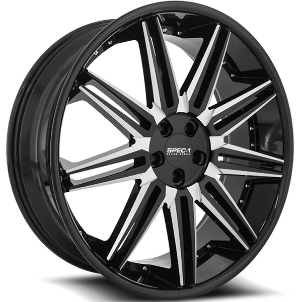 Spec-1 SPL-006 Gloss Black with Machined Face